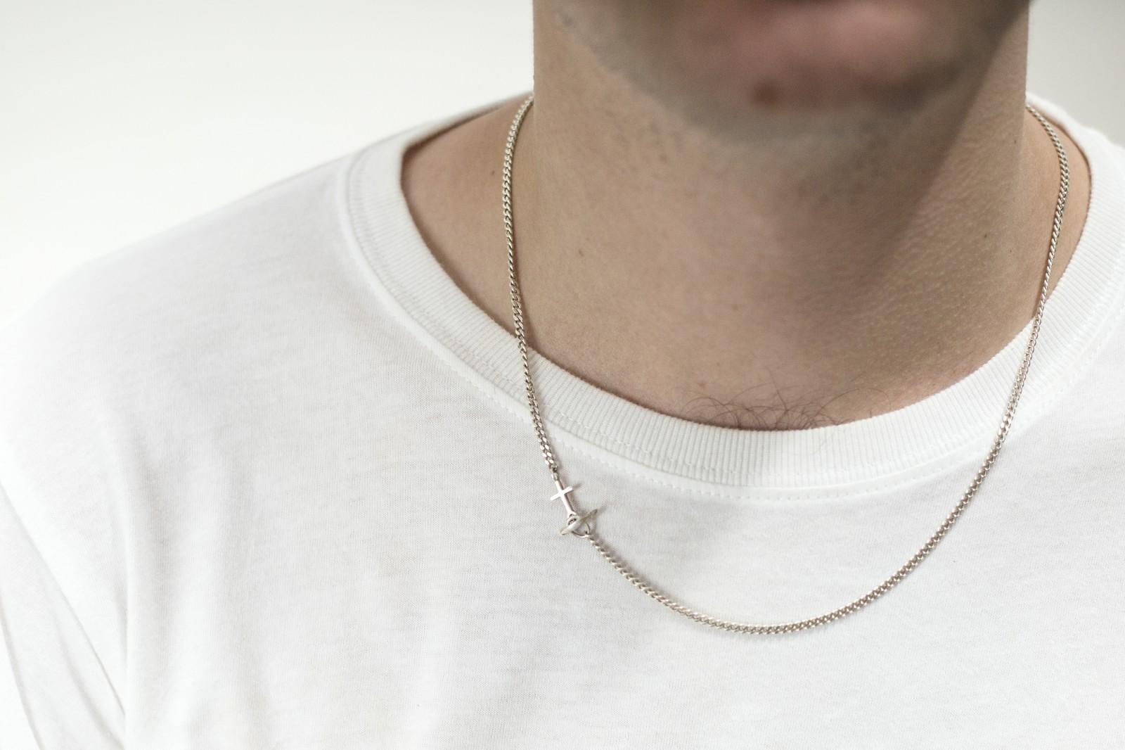 anchor necklace men 183 saskia diez