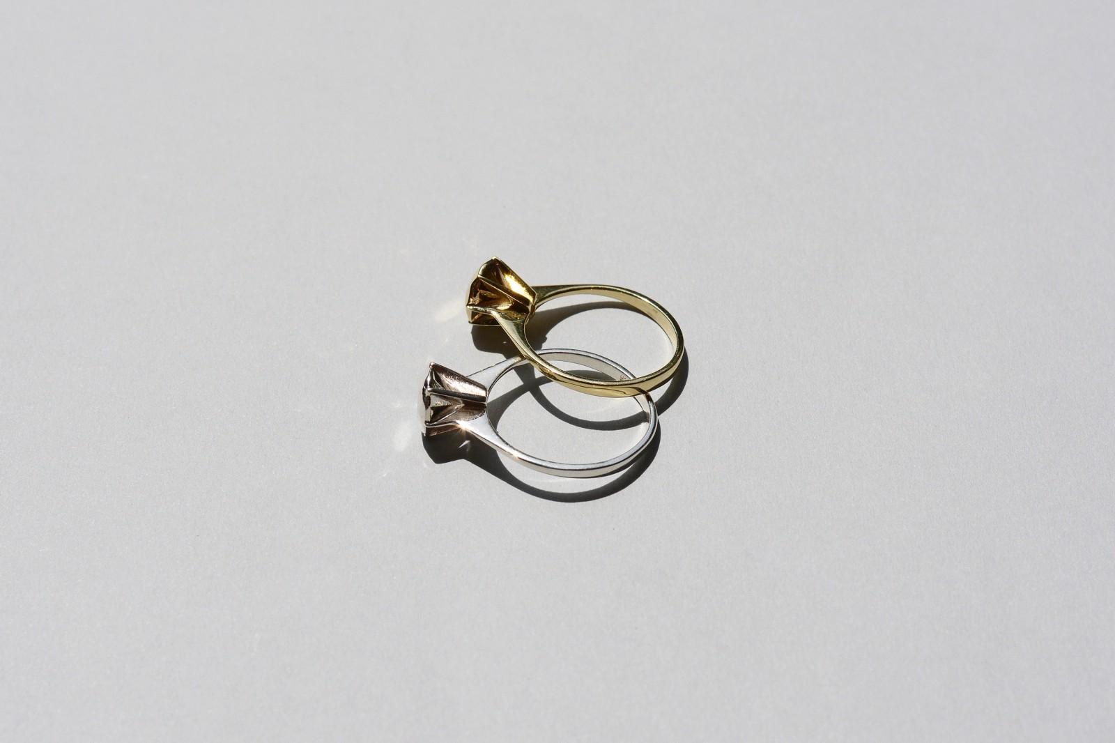 Diamond Ring Saskia Diez