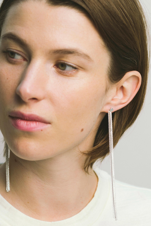 Fine Long Earrings 183 Saskia Diez