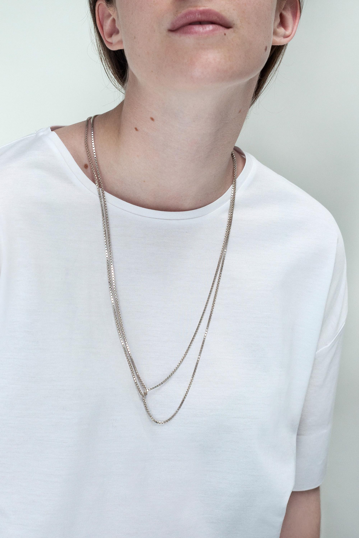 Double Loop Necklace 183 Saskia Diez