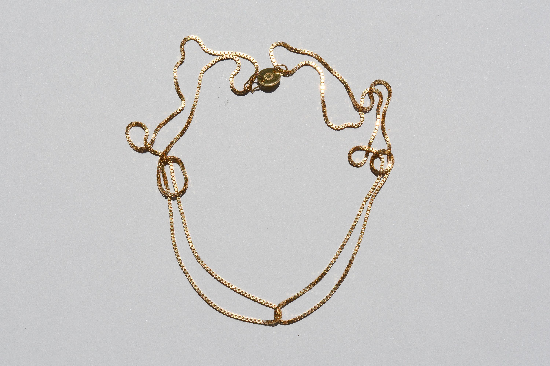 Short Loop Necklace 183 Saskia Diez