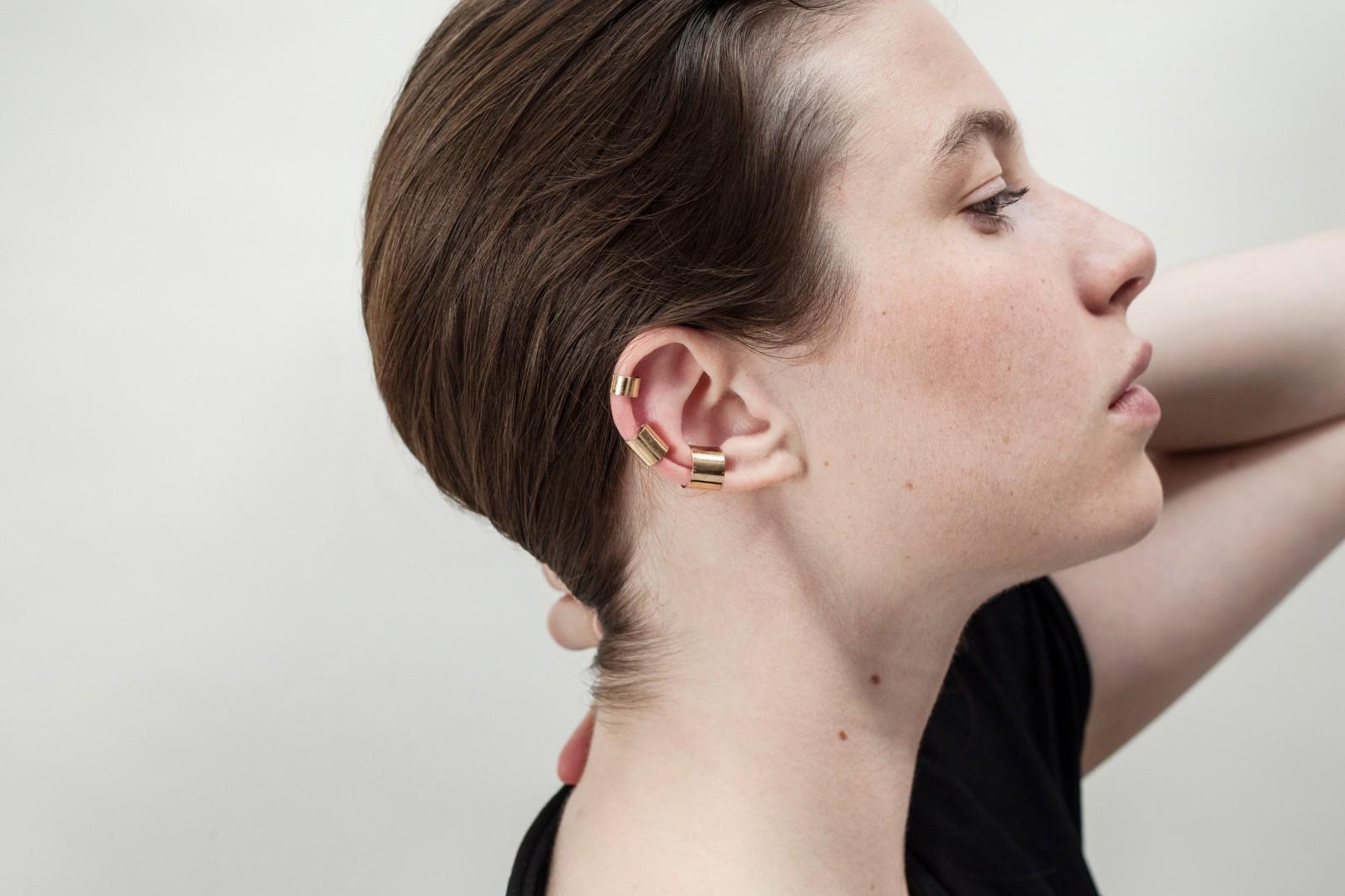 Saskia Diez Chain double ear cuff pz38as6ic