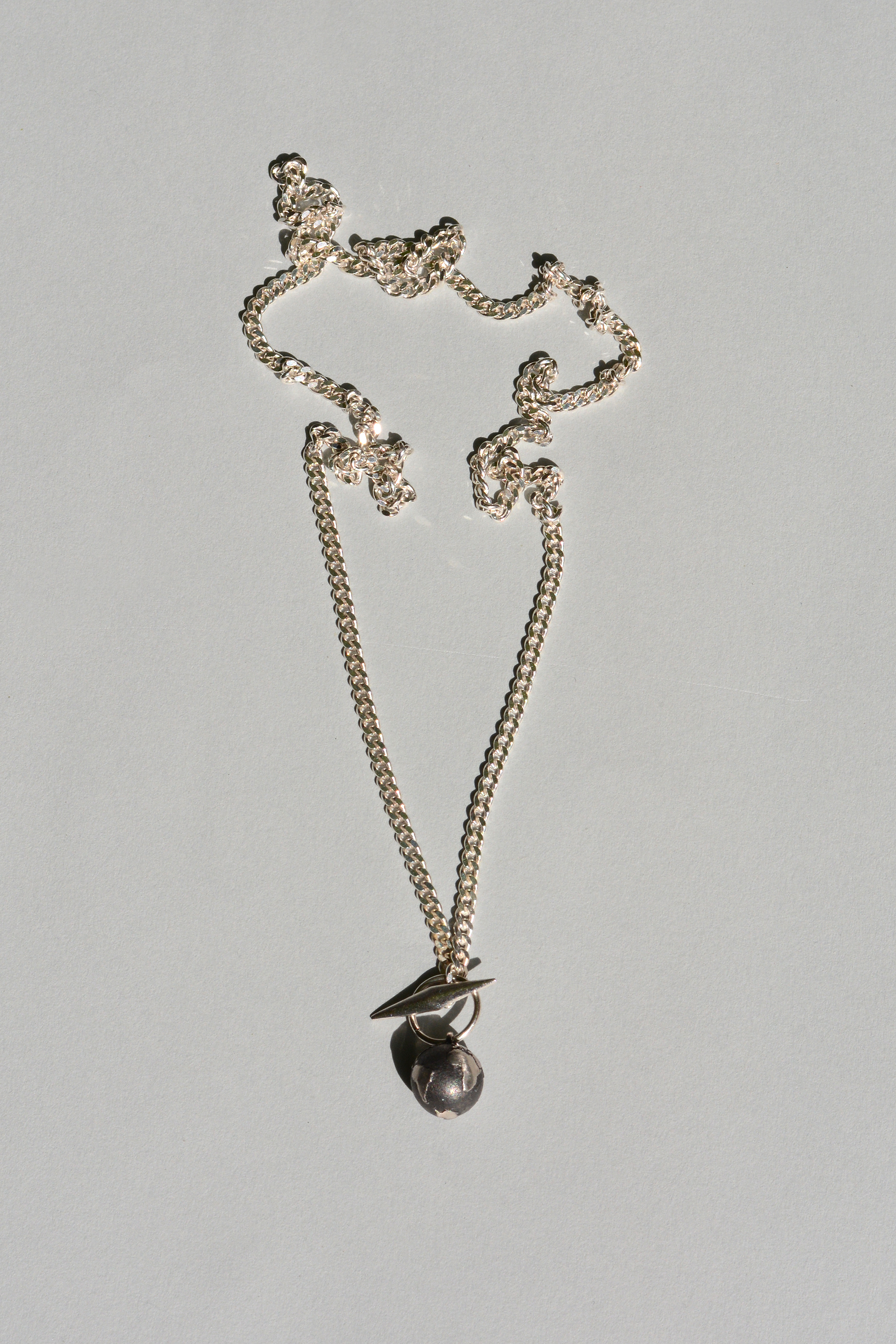 white real anchor stones necklace with gold an inch key and products lock cz layered pendant