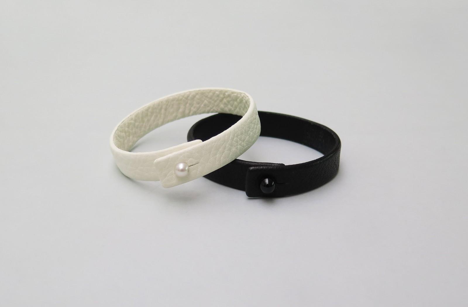 Leather Bracelet No1 183 Saskia Diez