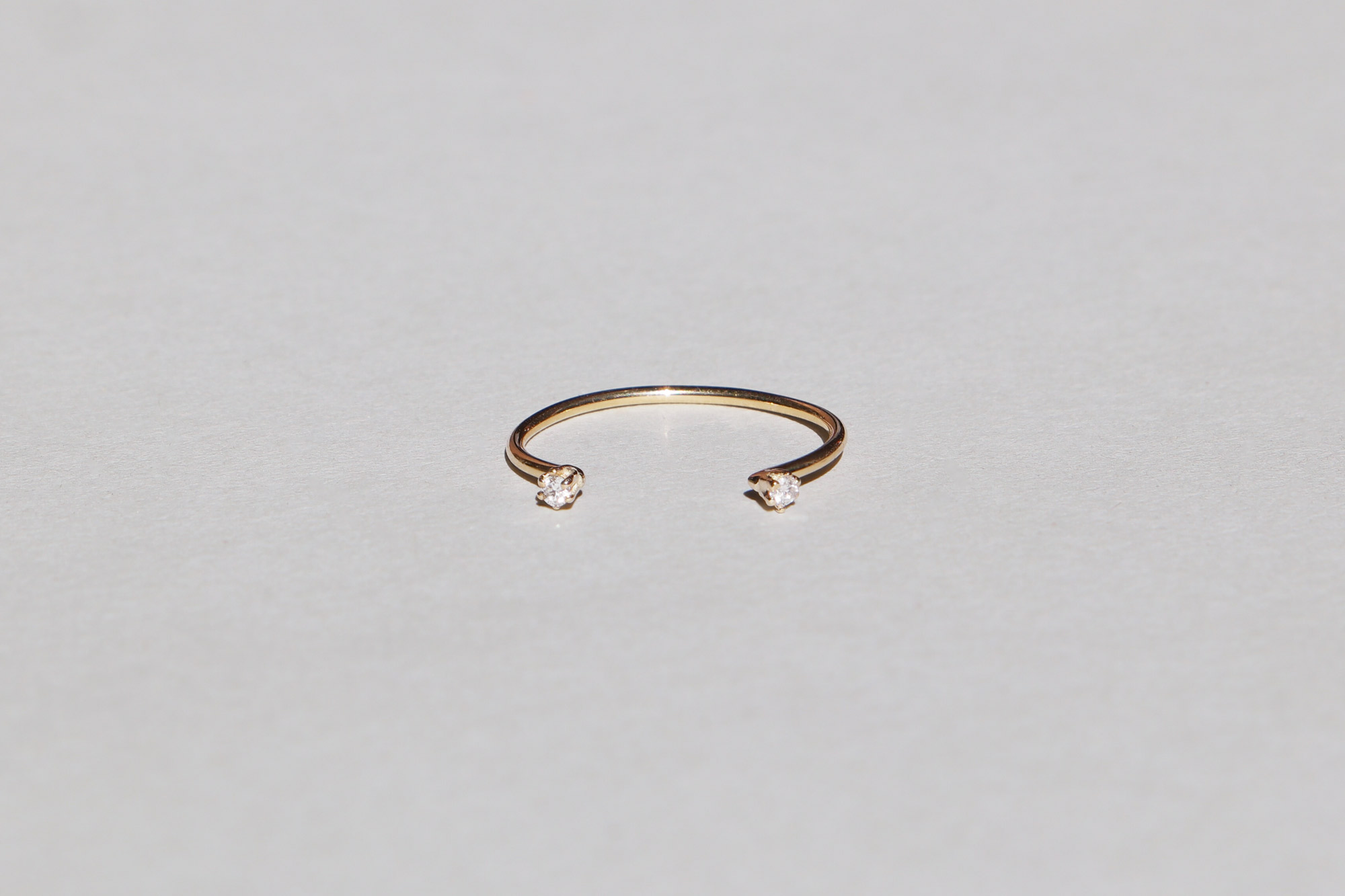 mini WIRE twin ring · Saskia Diez