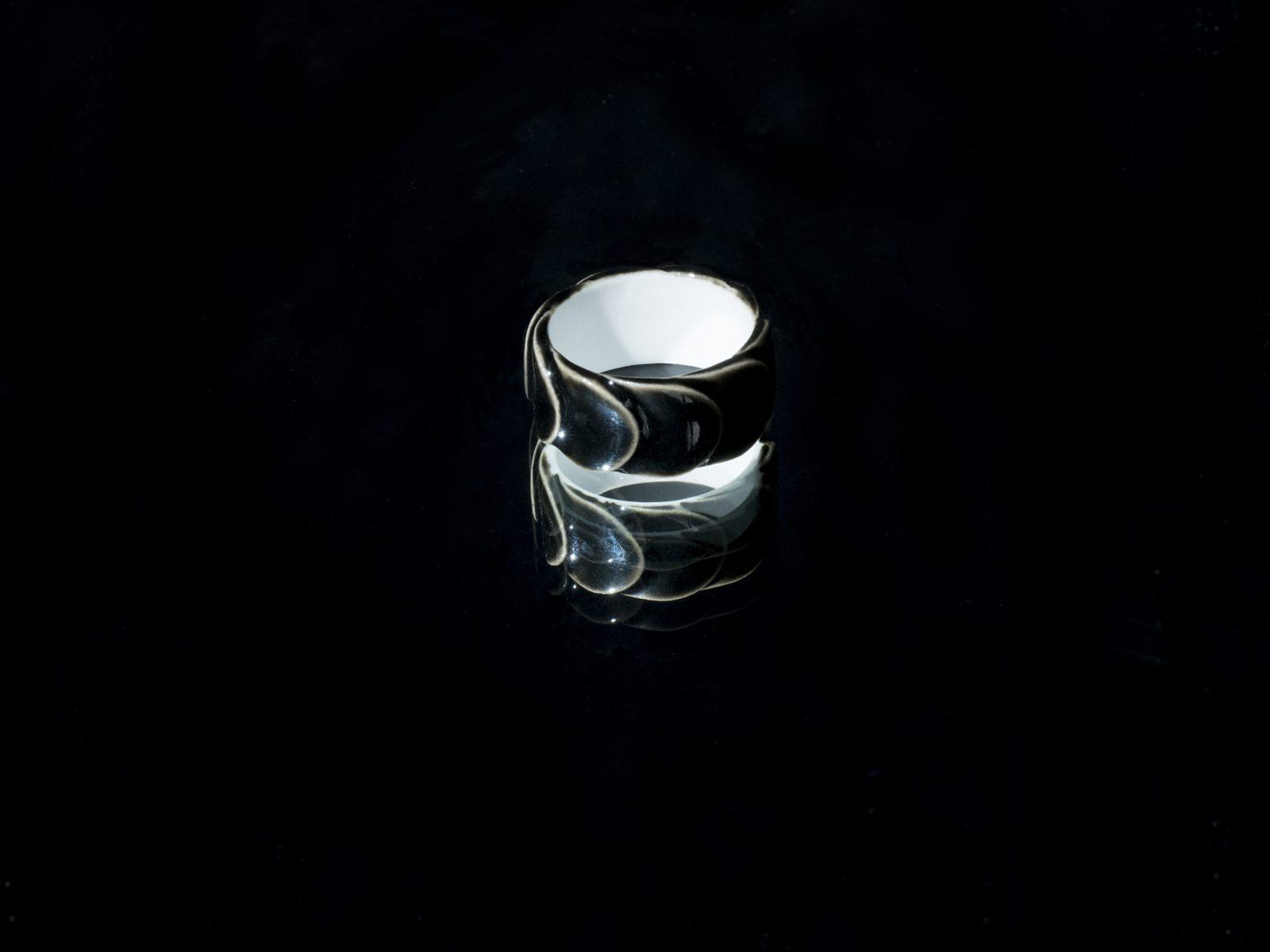 Black Amp White Drake Rings 183 Saskia Diez