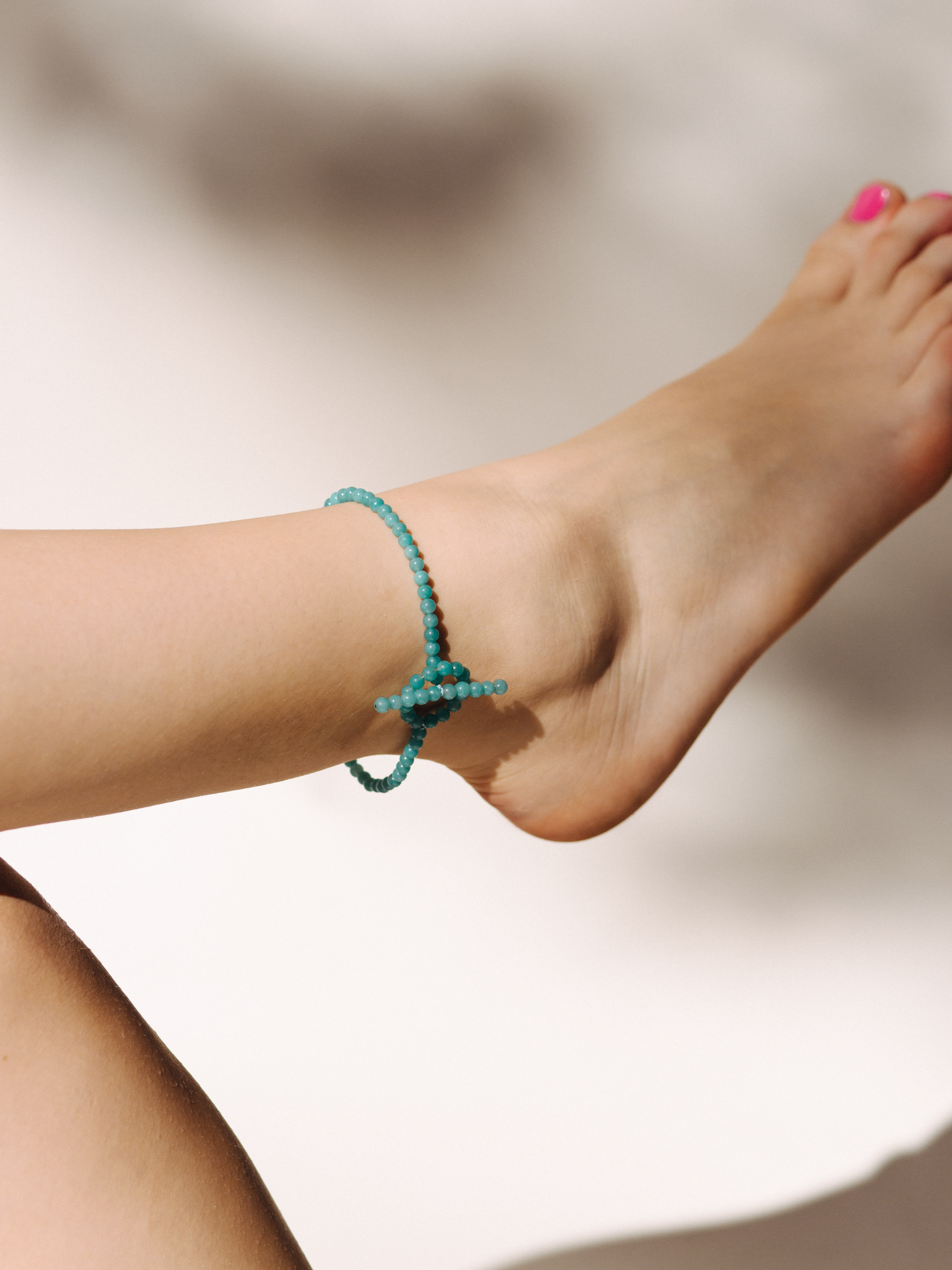 anklets bracelet jewelry glass by key bum anklet secrets sea beach