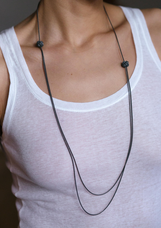 Big Knot Necklace No2 183 Saskia Diez