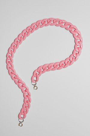 Pink Nylon Mask Chain