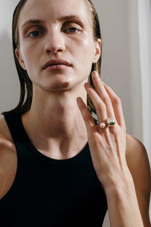 pearl SLING ring No2